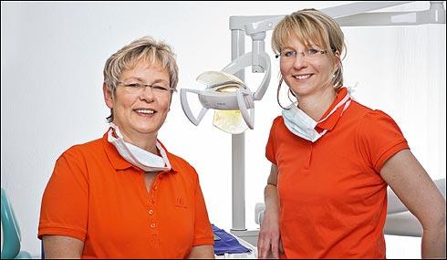 Dr. Ulrike Helming und Dr. Kerstin Schmeißer